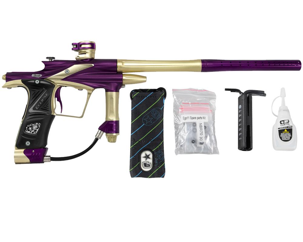 Planet Eclipse 2011 Ego Paintball Gun - Purple w/ Gold